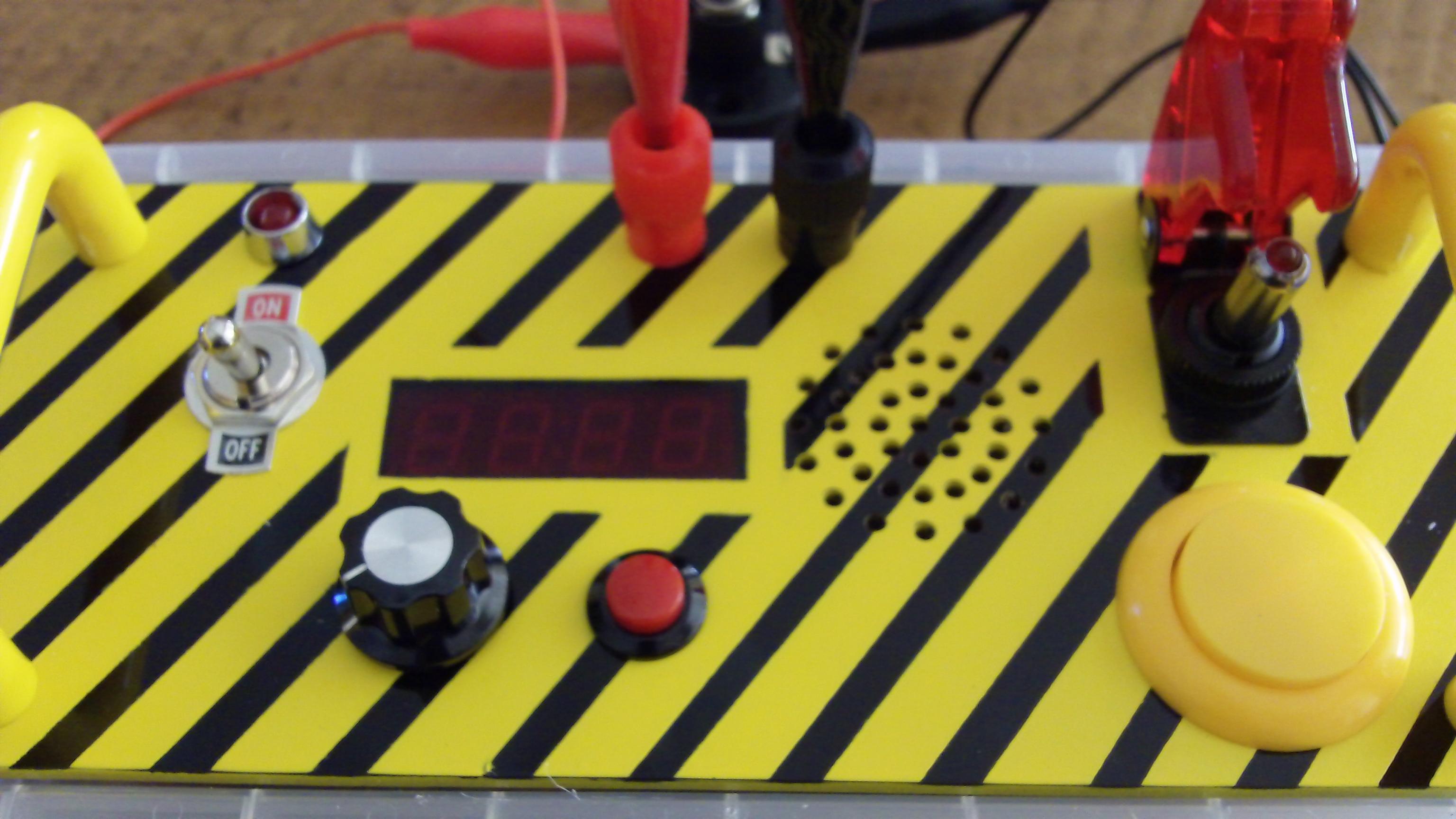 Arduino rocket launch controller arduining