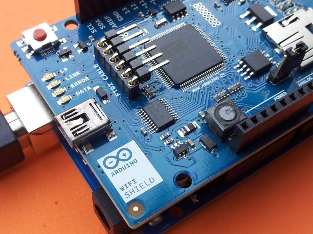 New arduino wifi shield testing arduining