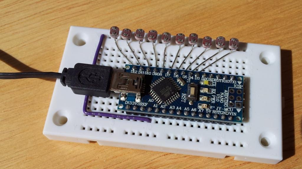 Optical flow sensor with arduino nano arduining
