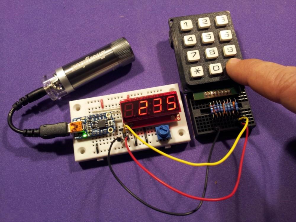 bildr Is it hot? Arduino MLX90614 IR Thermometer