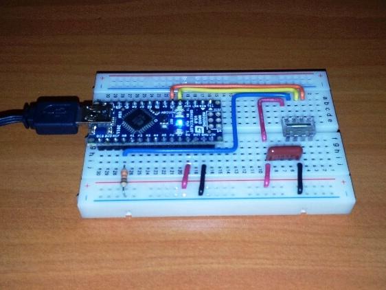 Using the linear sensor array tsl r with arduino arduining