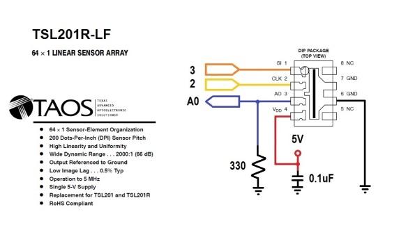 TSL201R_Wiring