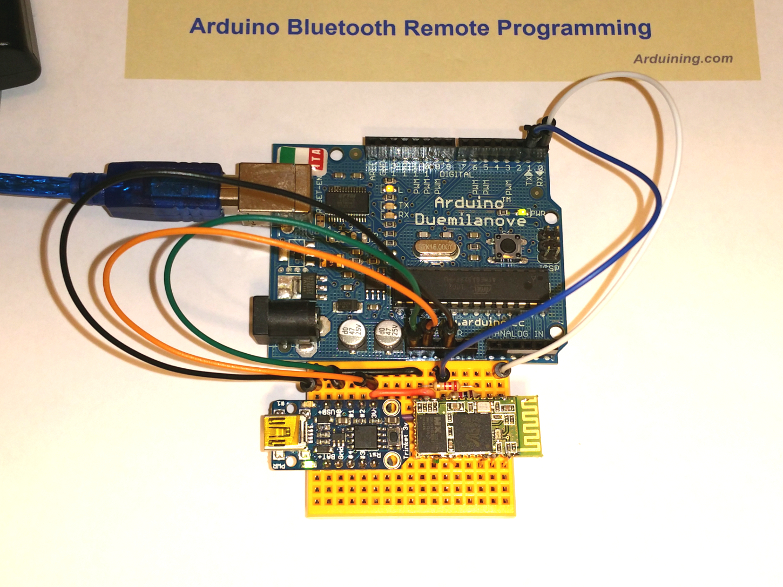Arduino Sketch upload via Bluetooth – Arduining